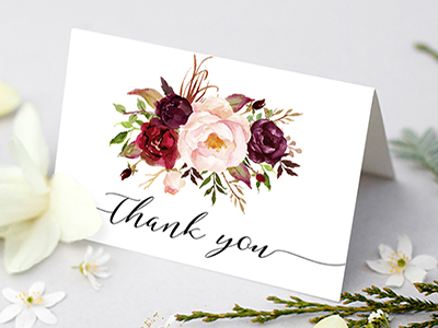 Thank You Card Editable Printable Cardcrisp